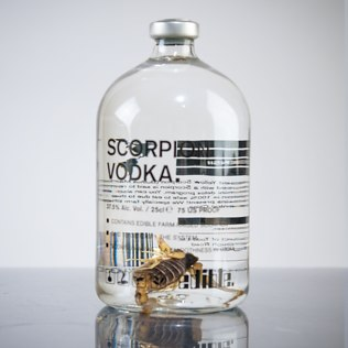Picture of: Scorpion Vodka (250ml bottle) | Secret Santa Generator Gifts