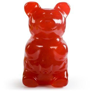 Picture of: Giant Gummi Bear (Cherry) | Secret Santa Generator Gifts