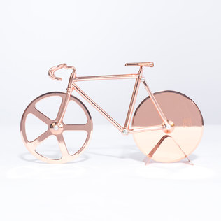 Picture of: Fixie Bike Pizza Cutter  (Copper) | Secret Santa Generator Gifts