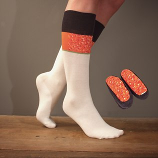 Picture of: Sushi Socks (Red Caviar) | Secret Santa Generator Gifts