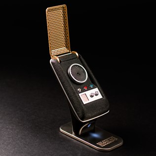 Picture of: Star Trek: Original Series Bluetooth Communicator   Secret Santa Generator Gifts