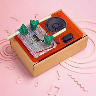 Picture of: DIY Synth Kit | Secret Santa Generator Gifts