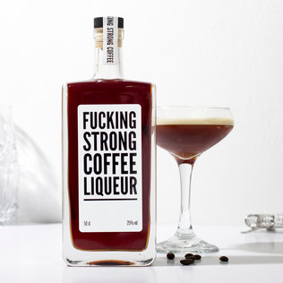 Picture of: F*cking Strong Coffee Liqueur | Secret Santa Generator Gifts