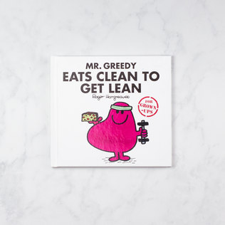 Picture of: Mr Men for Grown Ups (Mr Greedy Eats Clean To Get Lean) | Secret Santa Generator Gifts