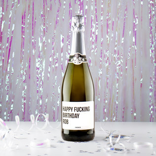 Picture of: Happy F*cking Whatever Prosecco | Secret Santa Generator Gifts