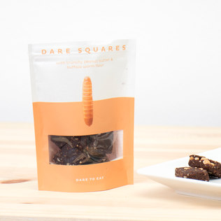 Picture of: Dare Squares (Peanut Butter and Buffalo Worms) | Secret Santa Generator Gifts