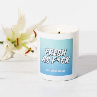 Picture of: Fragranced As F*ck Candles  (Fresh As F*ck) | Secret Santa Generator Gifts