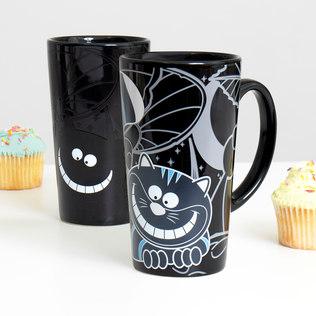 Picture of: Cheshire Cat Heat Changing Mug | Secret Santa Generator Gifts