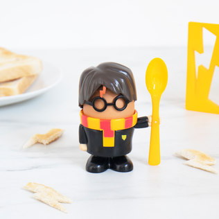 Picture of: Harry Potter Egg Cup & Toast Cutter | Secret Santa Generator Gifts