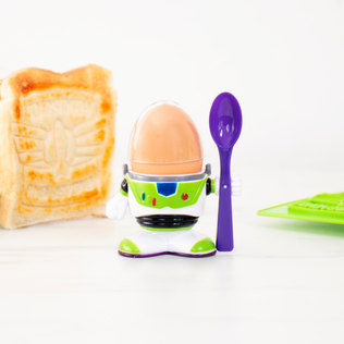 Picture of: Buzz Lightyear Egg Cup & Toast Cutter | Secret Santa Generator Gifts