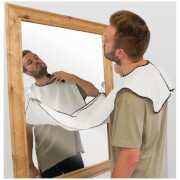 Picture of: Beard Buddy Shaving Apron - White | Secret Santa Generator Gifts