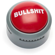 Picture of: Bulls**t Button | Secret Santa Generator Gifts