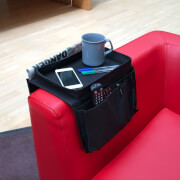 Picture of: Arm Chair Caddy - Black | Secret Santa Generator Gifts