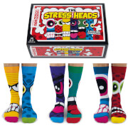Picture of: United Oddsocks Men's The Stressheads Socks Gift Set | Secret Santa Generator Gifts