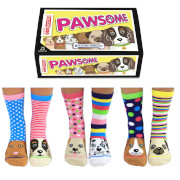 Picture of: United Oddsocks Women's Pawsome Socks Gift Box | Secret Santa Generator Gifts