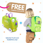 Picture of: Trunki Rex the Dino Ride on Case (Includes Free Dino ToddlePak Backpack) | Secret Santa Generator Gifts