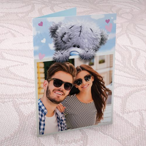 Picture of: Photo Upload Me to You Card - Tatty Teddy Bear | Secret Santa Generator Gifts