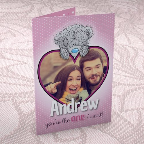 Picture of: Photo Upload Me to You Card - One I Want | Secret Santa Generator Gifts