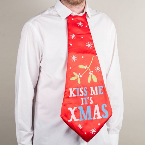 Picture of: Kiss Me It's Christmas Tie | Secret Santa Generator Gifts