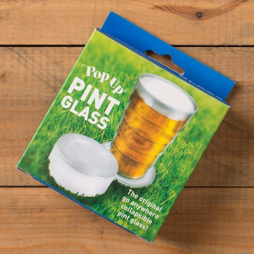 Picture of: Pop Up Pint Glass | Secret Santa Generator Gifts