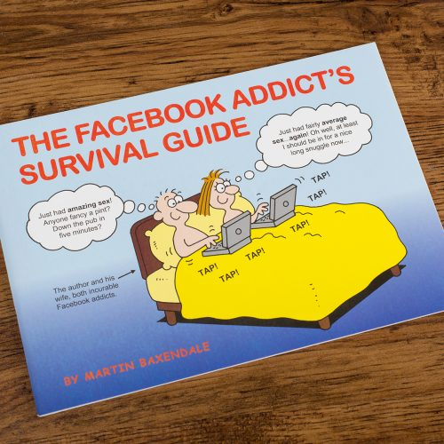 Picture of: Martin Baxendale The Facebook Addict's Survival Guide | Secret Santa Generator Gifts