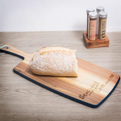 Picture of: Jamie Oliver Personalised Antipasti Serving Board - Seasoning Everything With Love | Secret Santa Generator Gifts