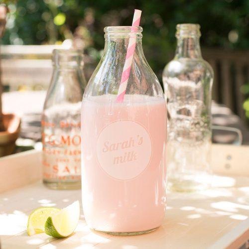 Picture of: Personalised Milk Bottle | Secret Santa Generator Gifts
