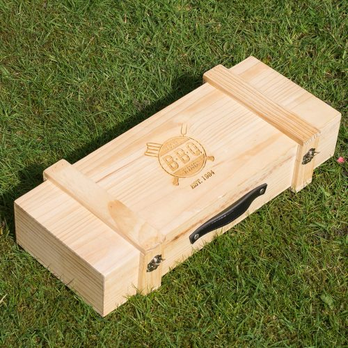 Picture of: Personalised BBQ Set - Dad BBQ King | Secret Santa Generator Gifts