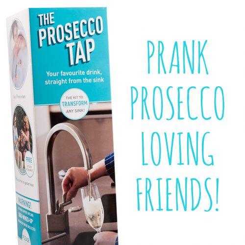 Picture of: The Prosecco Tap - Spoof Gift Box & Prosecco | Secret Santa Generator Gifts