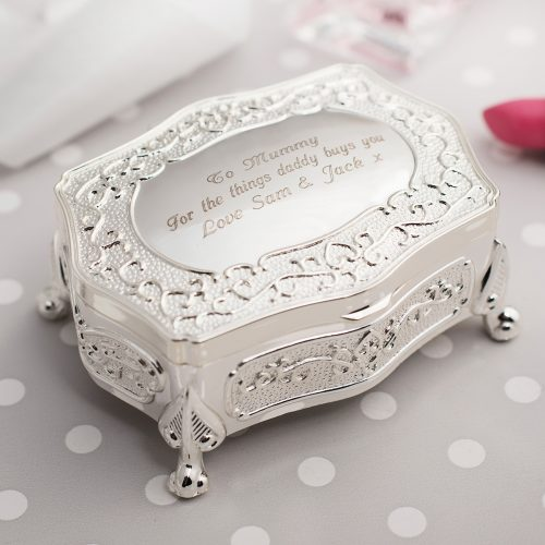 Picture of: Engraved Antique-Style Trinket Box | Secret Santa Generator Gifts