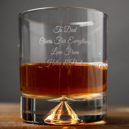 Picture of: Engraved Stern Whisky Glass | Secret Santa Generator Gifts