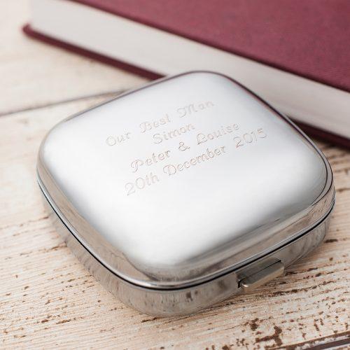 Picture of: Engraved Travel Alarm Clock | Secret Santa Generator Gifts