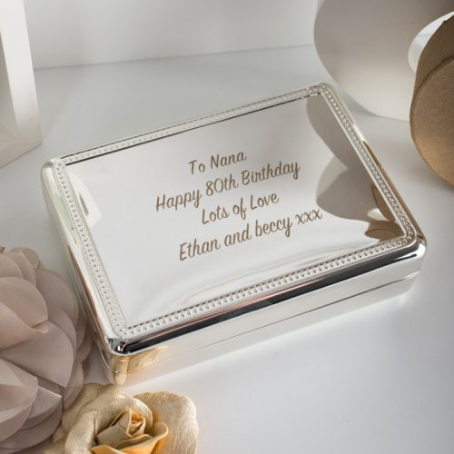 Picture of: Engraved Jewellery Box | Secret Santa Generator Gifts