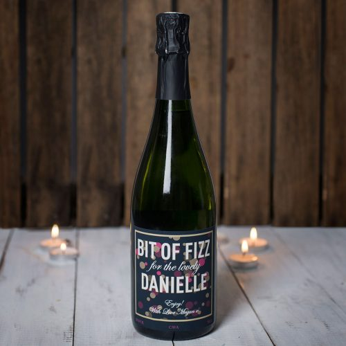 Picture of: Personalised Cava - Bit Of Fizz | Secret Santa Generator Gifts