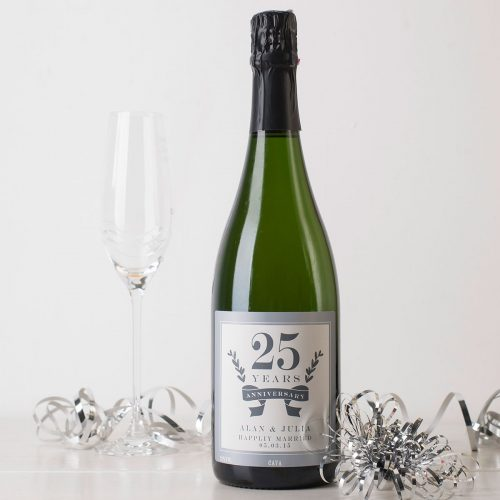 Picture of: Personalised Cava - Anniversary | Secret Santa Generator Gifts